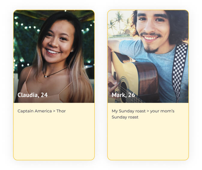 how to create a dating profile example