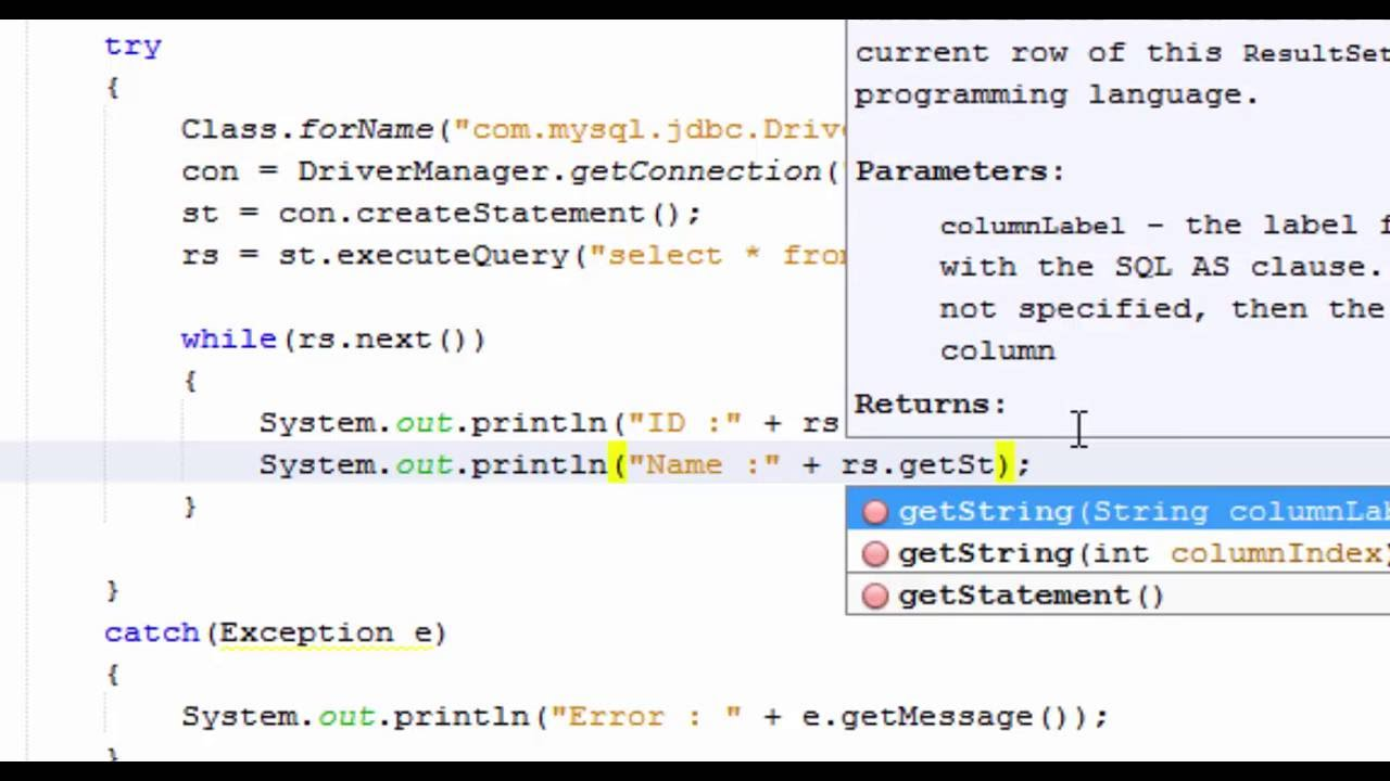 angularjs database connection example in java