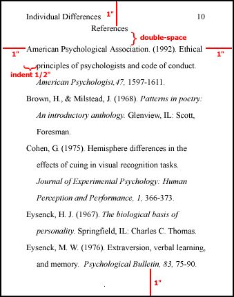 journal article critique example apa 6th edition