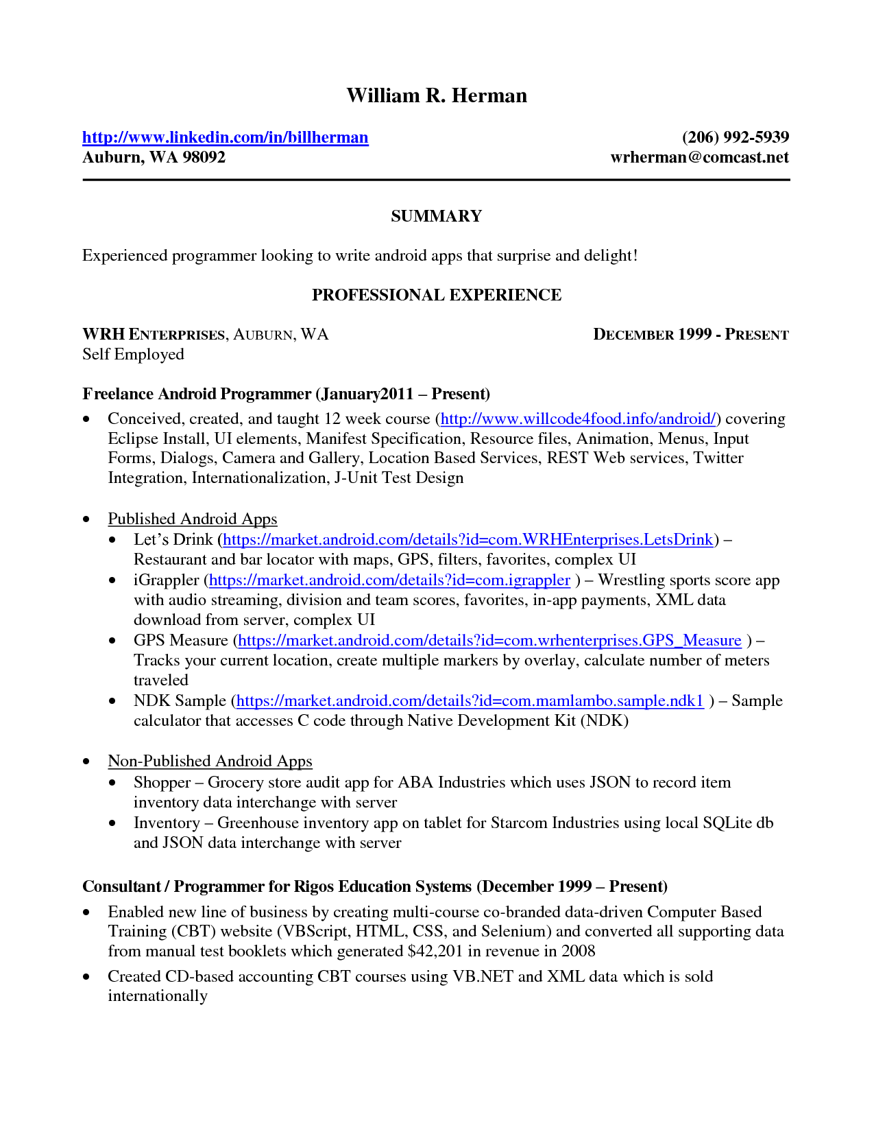 personal fitness trainer resume example