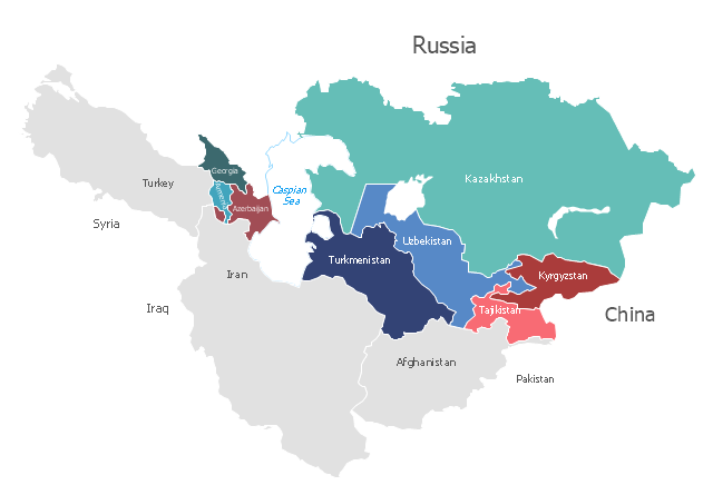 an example of intelligence federation in central asia is the
