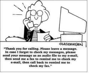 example of a bad voicemail