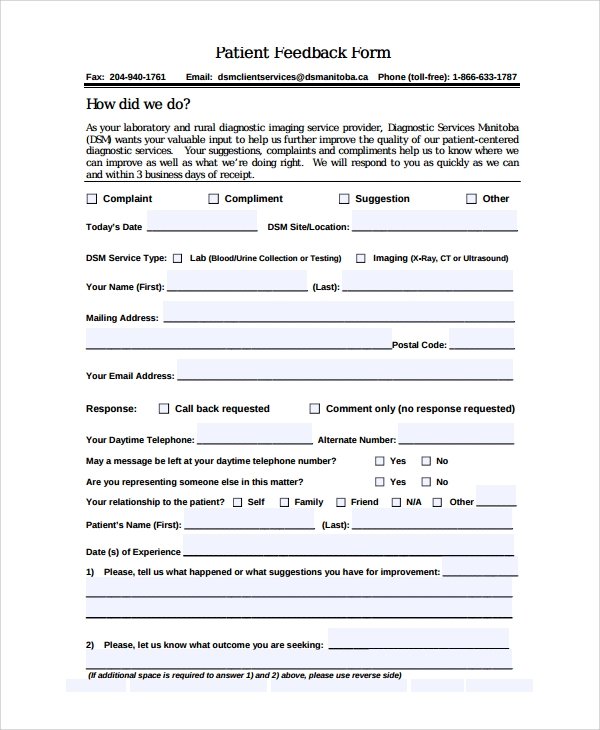 example of standard workplace audit form completed