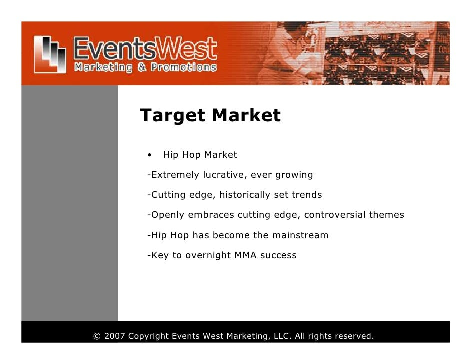 example of target market and target audience